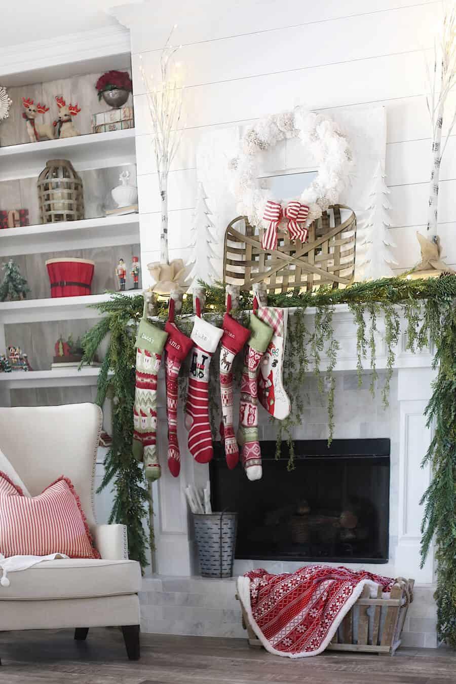 Christmas Farm House