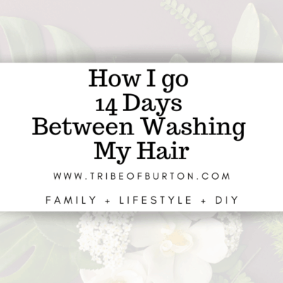 How To Increase Days Between Washing Your Hair