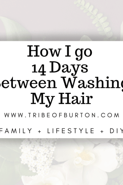 Using Dry Shampoo for 14 days #dryshampoo