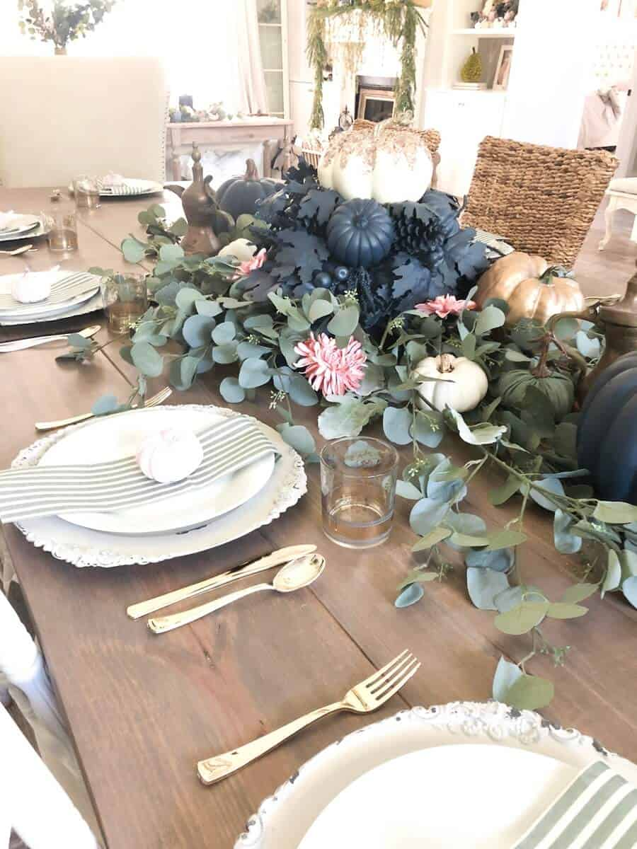 Formal Fall Tablescape