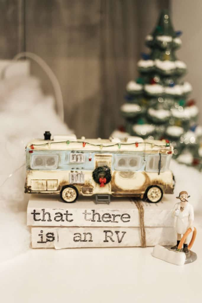 Christmas Vacation RV Decor