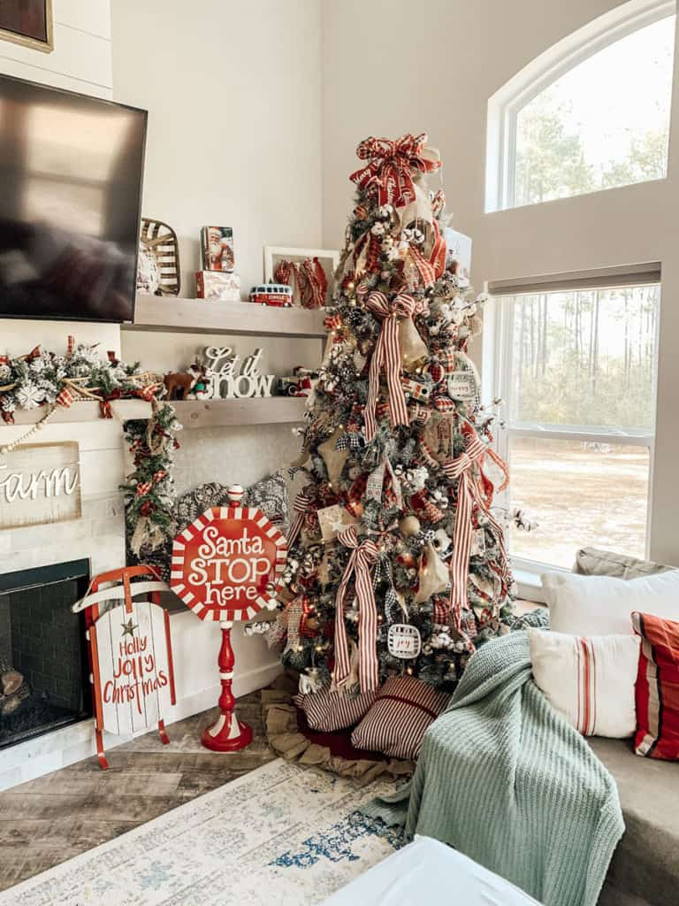 Country Christmas Tree