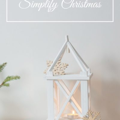 How To Simplify The Holidays Right Now