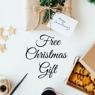 Last minute FREE Christmas Gift