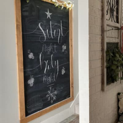 How to Make a Chalkboard Wall