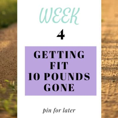 Week 4 Getting Fit – Finding Time For Exercise