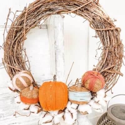 DIY Wreath for Fall