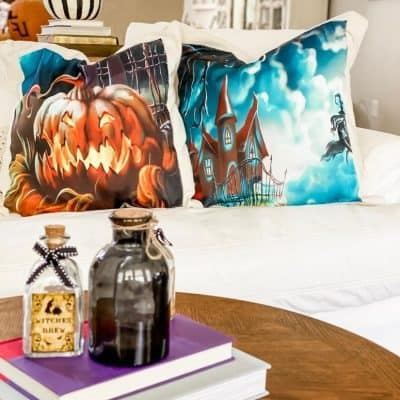 How to Make Halloween Pillow Covers