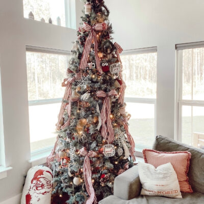 How To Make a Christmas Tree Look Different