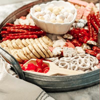 Valentine's Day Dessert Charcuterie Board